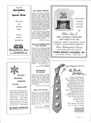 Gentry Number Five Holiday Issue 1952