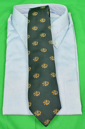 The Crossroads of Sport Hunter Green Poly Twill Tie