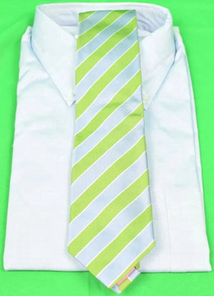 Seaward & Stearn for The Andover Shop English Striped Silk Tie