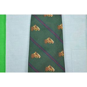 Polo by Ralph Lauren Italian Twill Silk Horsehead/ Stripe Tie