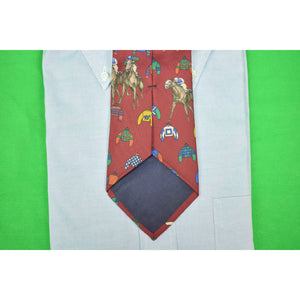 Chipp Burg Jockey Silks Tie