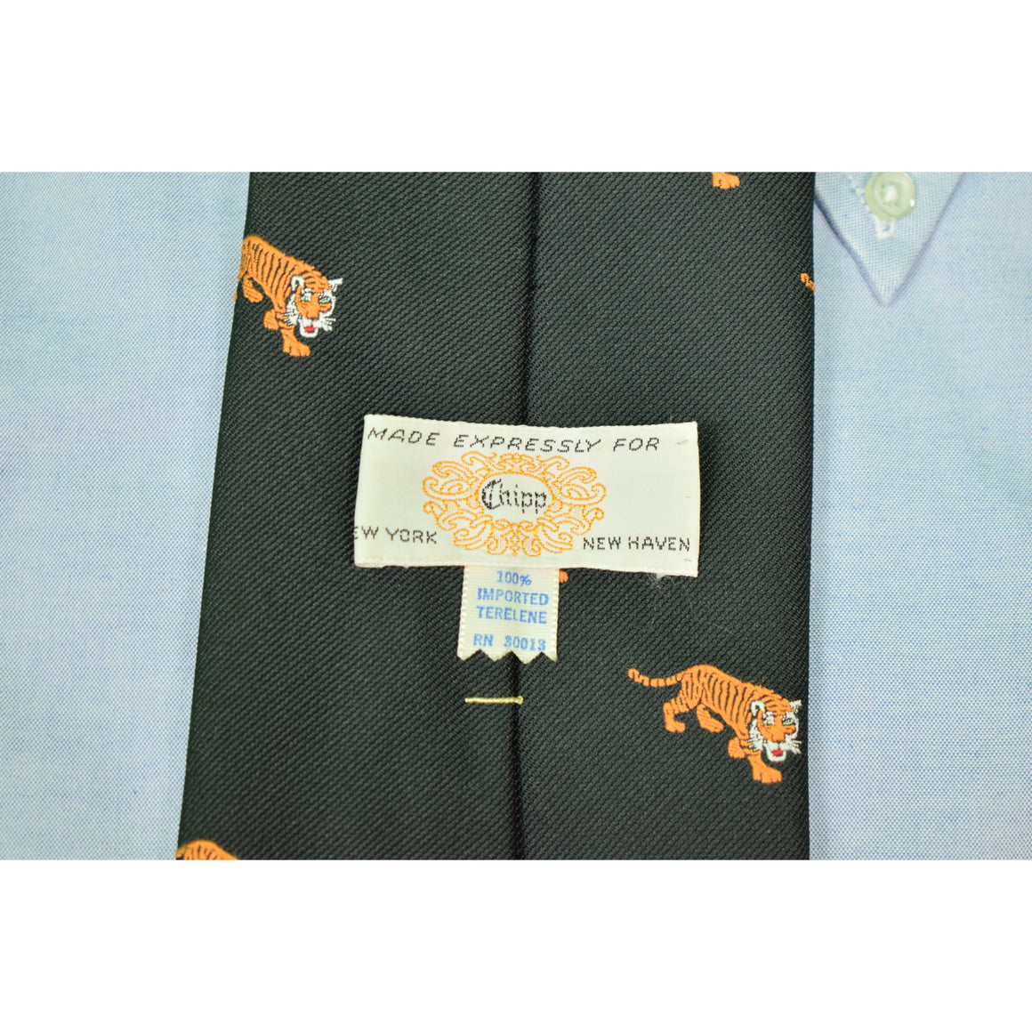 "Chipp ""Princeton Tigers"" Terelene Tie"