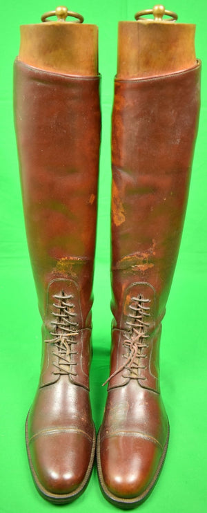 Pair of L.J. Watkins of Dublin Irish Hunting Boots w/ Trees