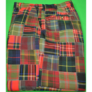 Orvis Patch Tartan Trousers Sz: 38'W