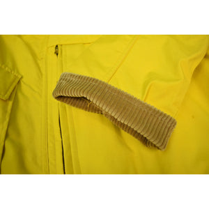Abercrombie & Fitch Falcon Brand Mustard Yellow Hunting Jacket Sz: 40 (SOLD!)