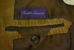 Ralph Lauren Purple Label Italian Corduroy Jacket Sz 40R
