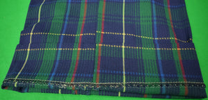"Orvis Tartan Plaid Cotton Seersucker Trousers Sz 34""W New w/ Tag!"