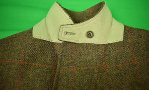 Magee of Ireland Windowpane Tweed Oxford Shooting Jacket Sz: 46R