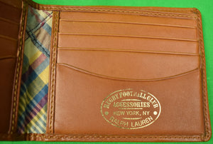 Rugby Ralph Lauren Patch Madras Billfold