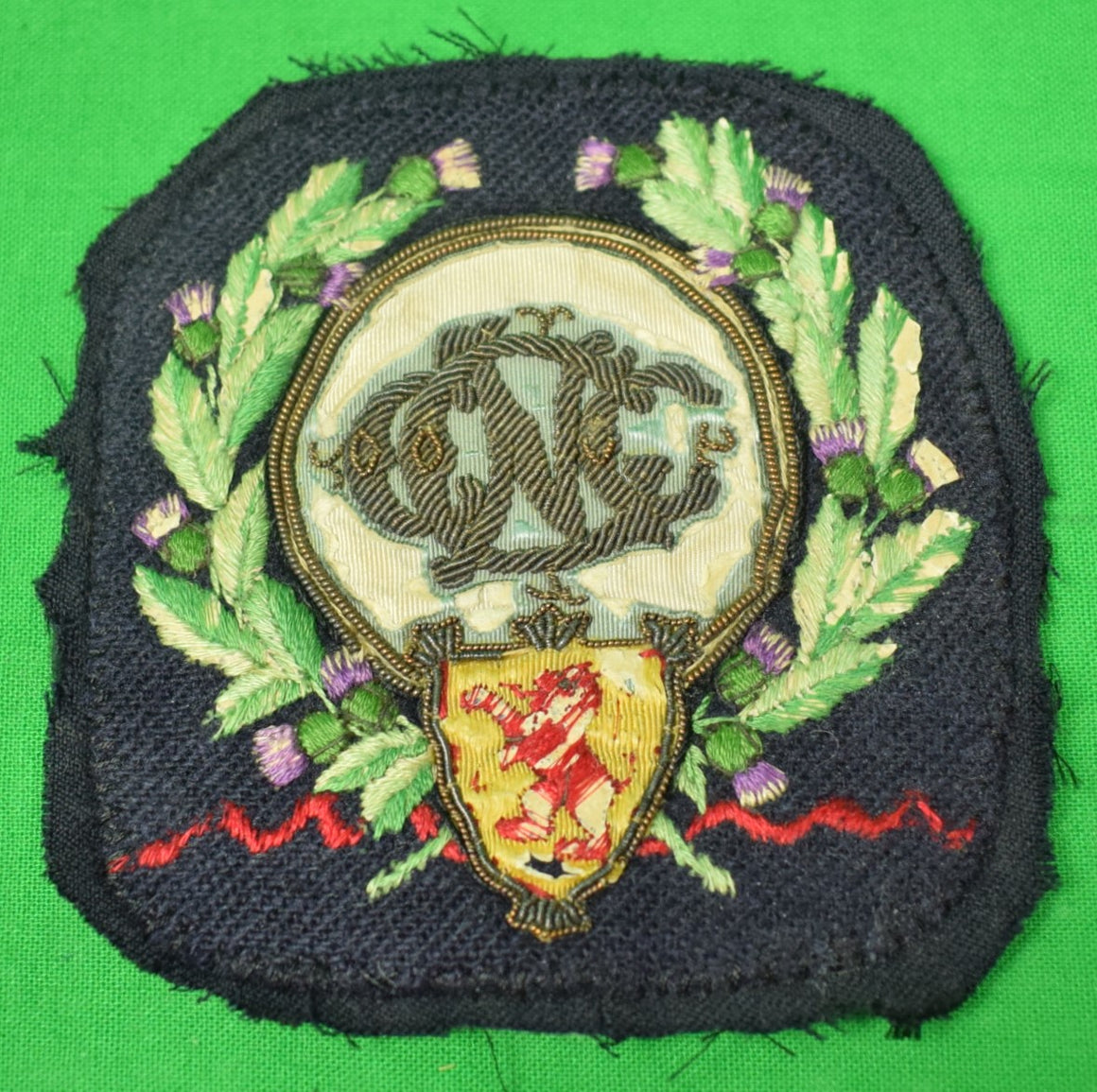 Victorian English Cricket Blazer Crest