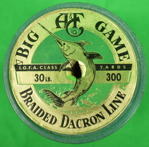 Abercrombie & Fitch Big Game Braided Dacron Line in Box!