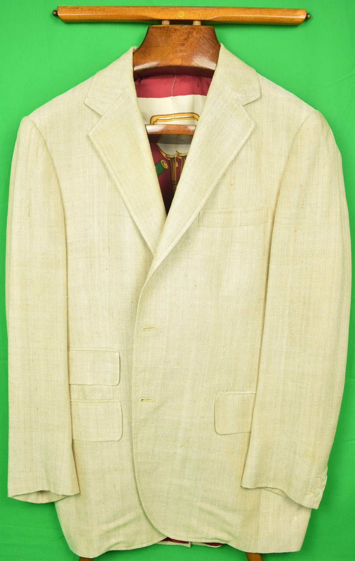 Natural silk lining for Jacket