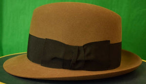 Lock & Co for Brooks Brothers Felt Fedora New in Box! Sz: 7-1/8