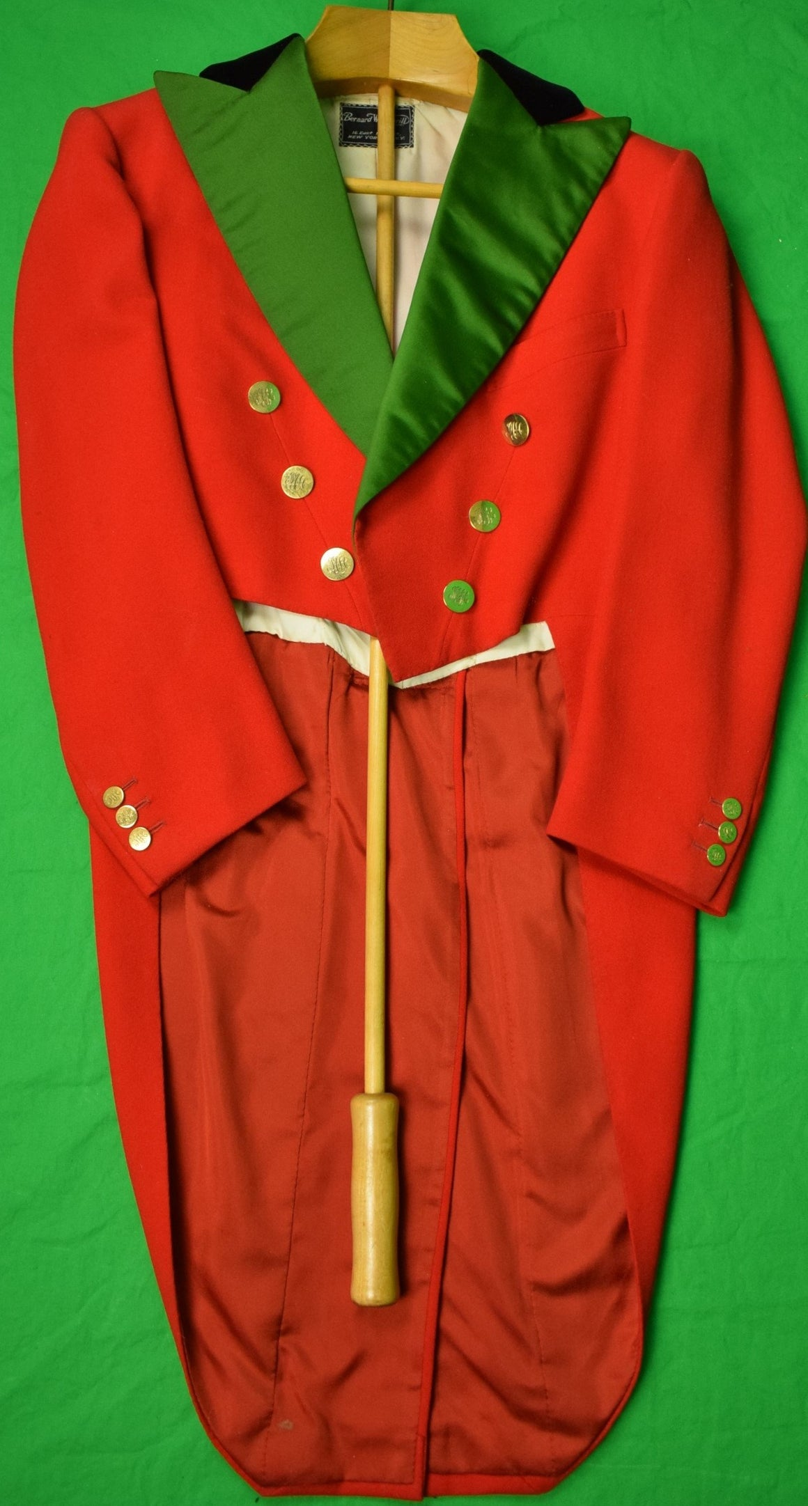Bernard Weatherill c1974 Millbrook Hunt Tailcoat Sz 38R