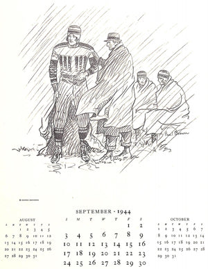 """Paul Brown Calendar for Brooks Brothers 1944"""