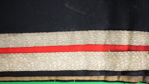 English Cavalry Officer's King George V Shabraque Saddlecloth