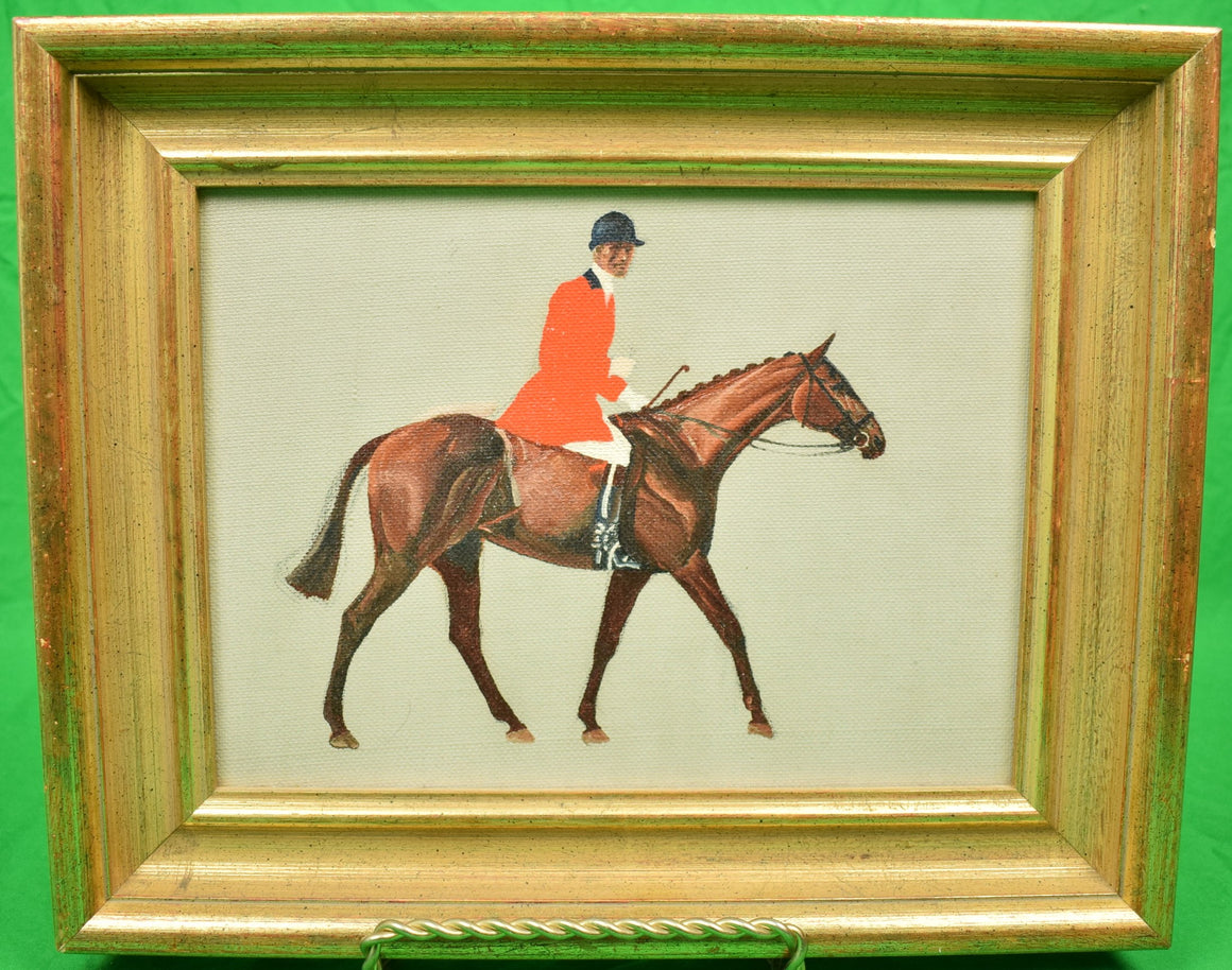 Fox-Hunter by Paul Desmond Brown Oil on Board