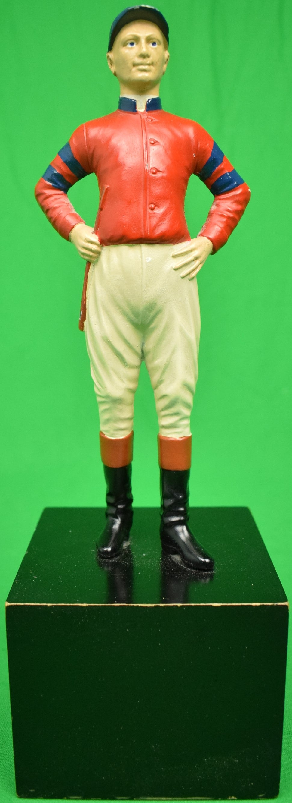 """21"" Club Jockey Bookend"
