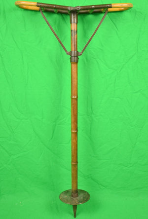 English Victorian Bamboo Shooting Stick