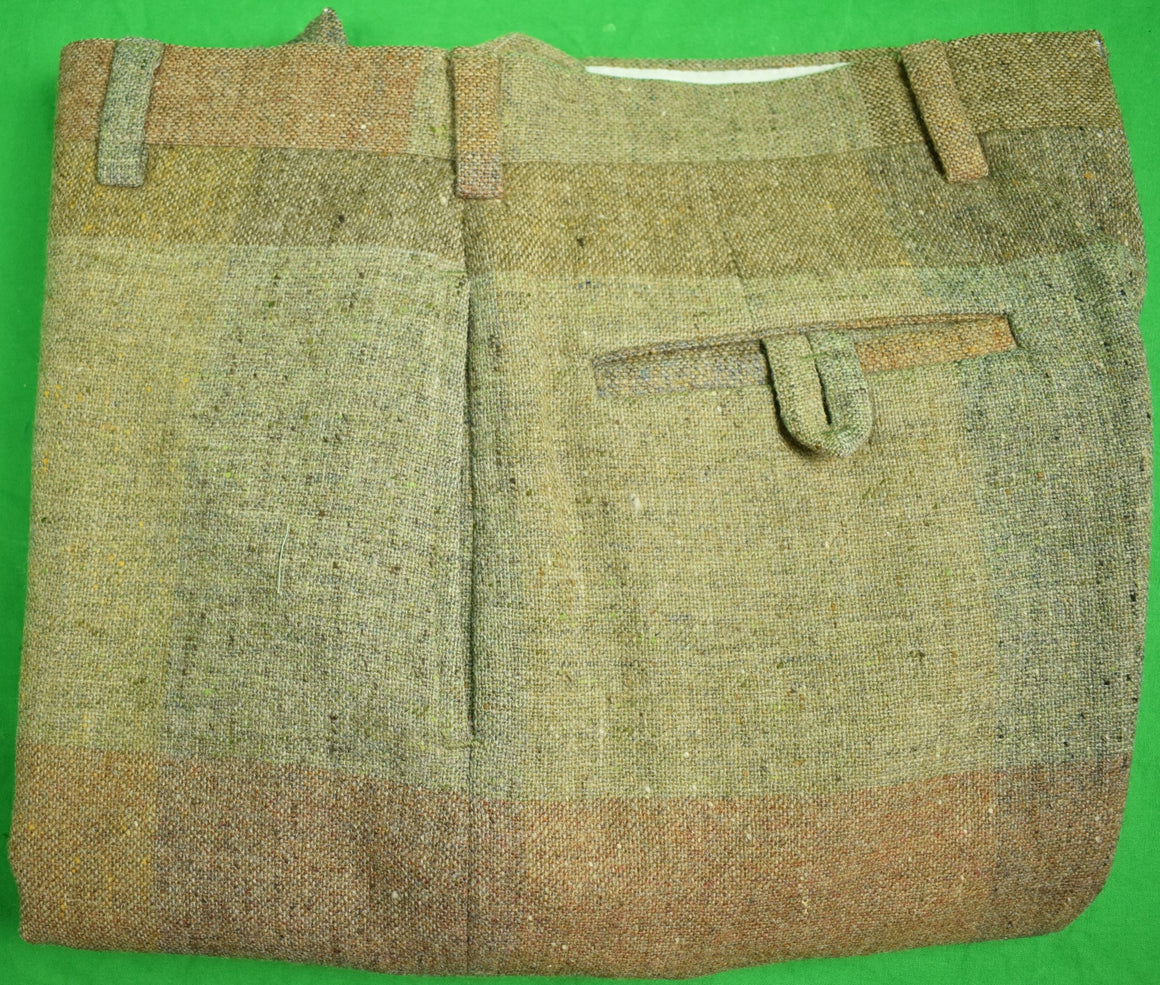 "Chipp Patch Donegal Tweed Trousers Sz: 34""W"