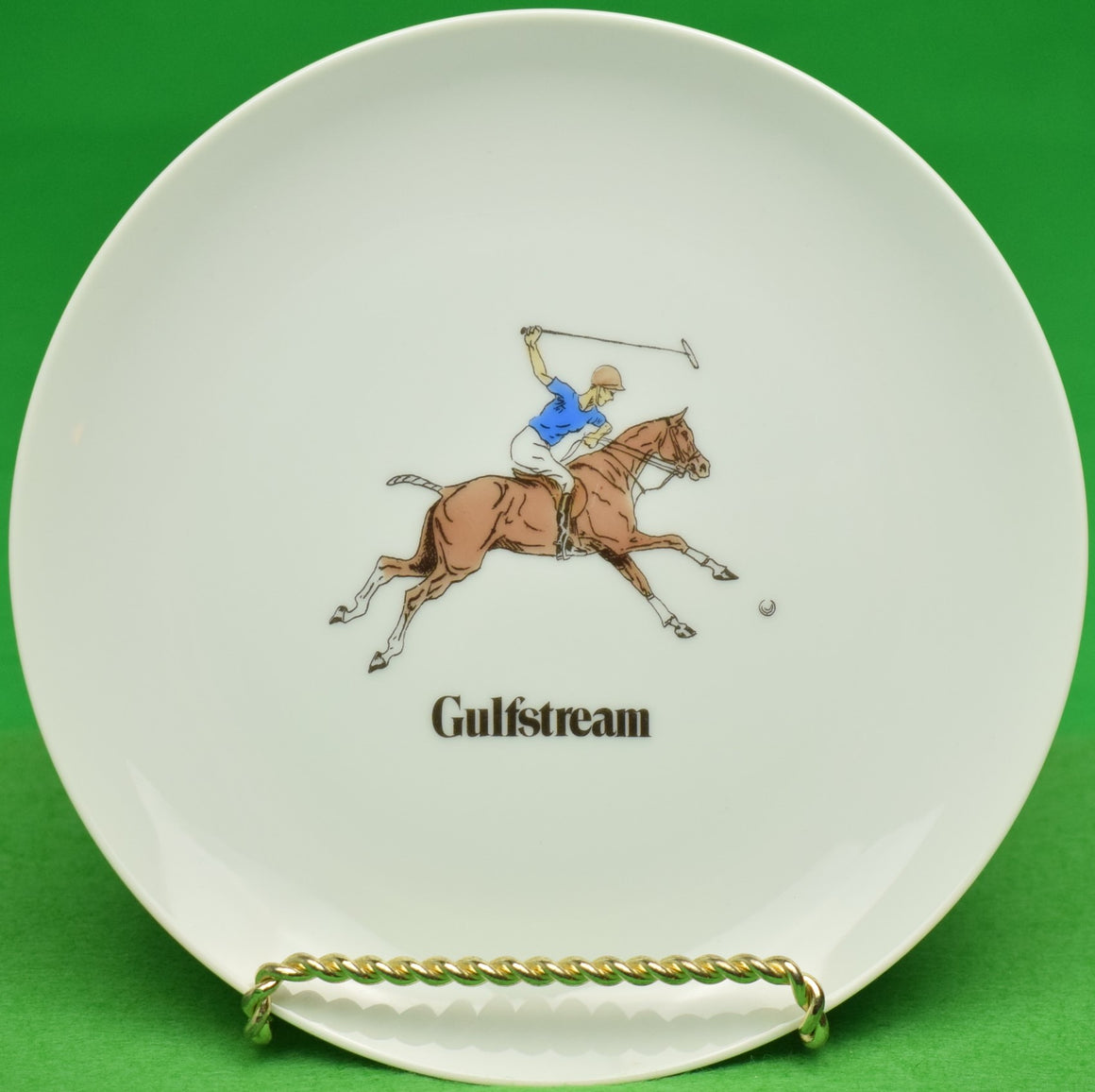 Gulfstream Polo Club Trophy Dish