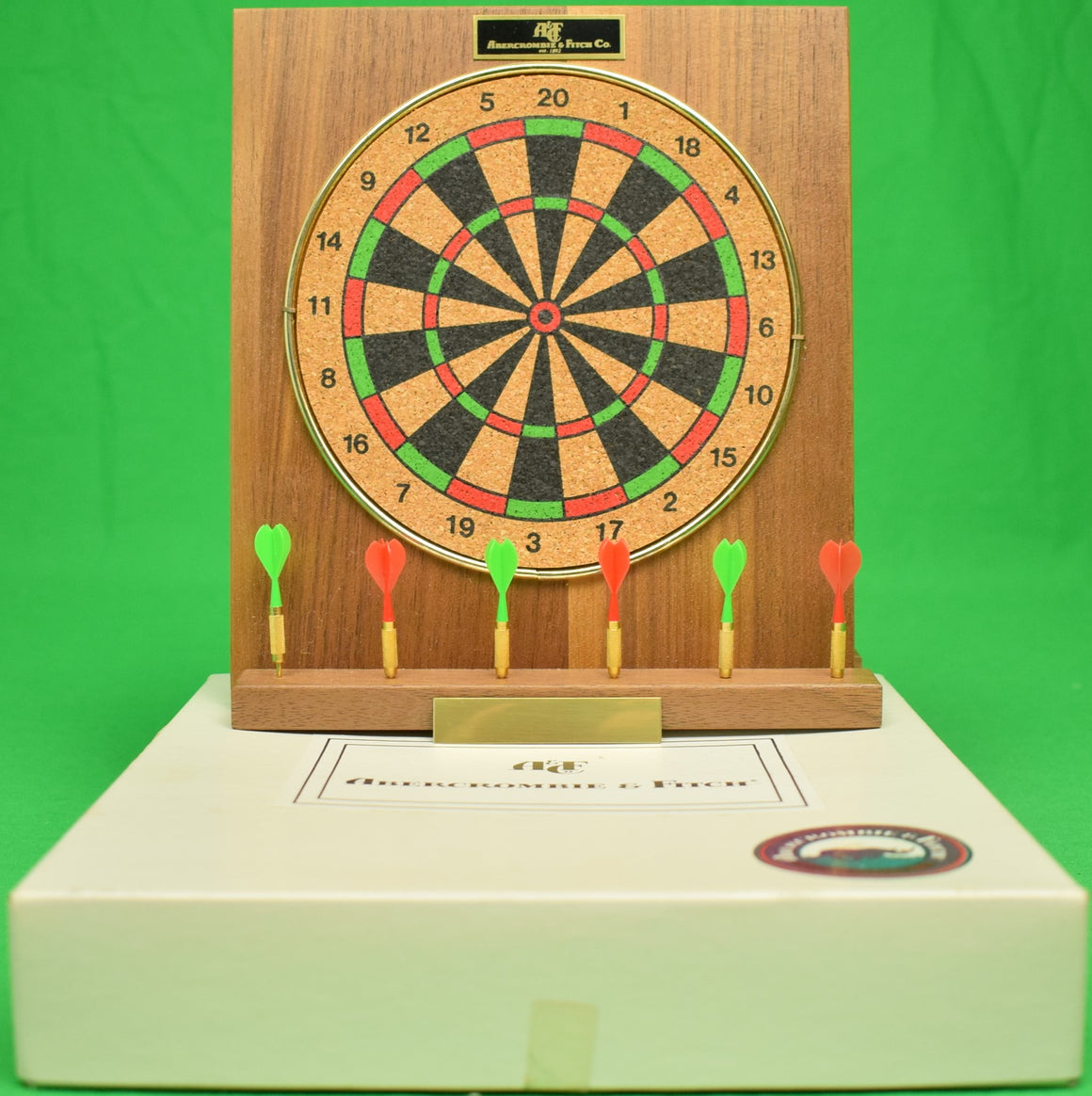 Abercrombie & Fitch Mini-Executive Dart Board (New in Box!)