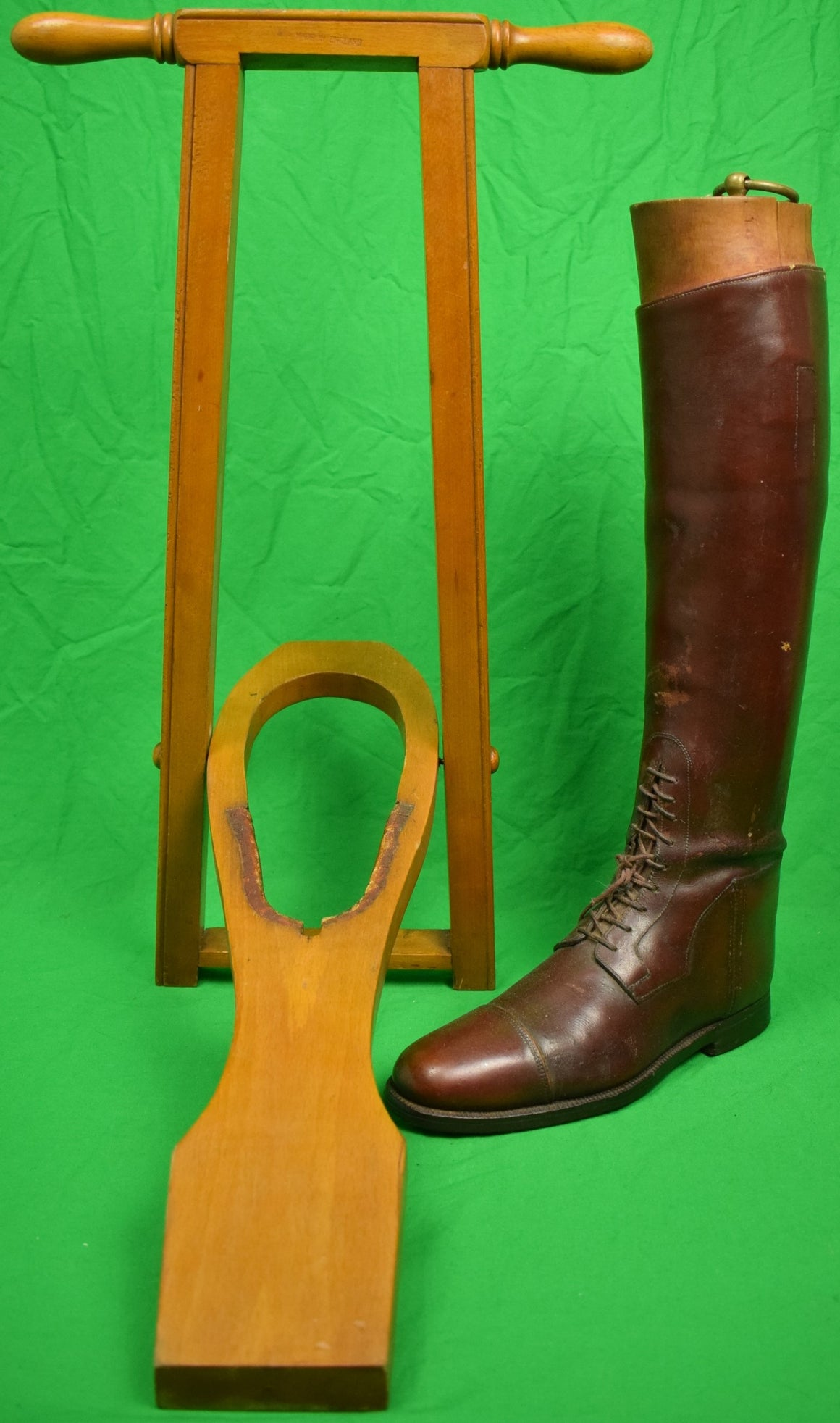 Abercrombie & Fitch Wooden Boot Jack Made in England