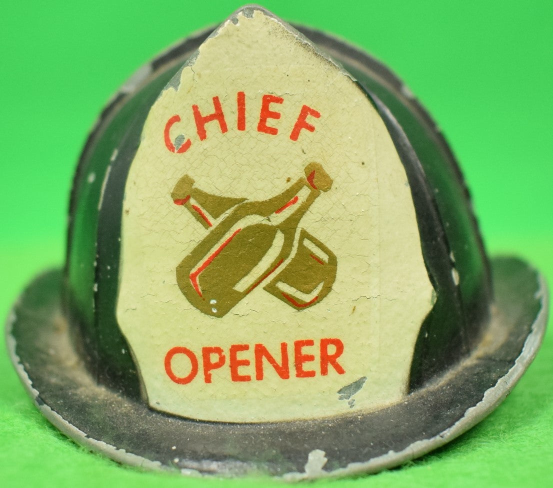 """Abercrombie & Fitch Fire Chief Bottle Opener"""