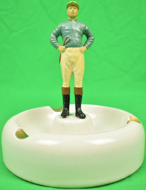 """21"" Club Jockey Hall Ashtray (SOLD)"