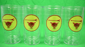 Set of 4 Myopia Hunt Club Tervis 16 oz Tumblers New!