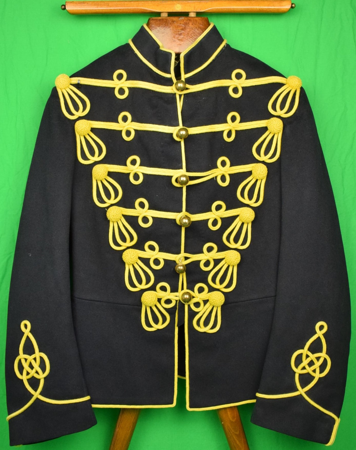 British Cavalry Full Dress Ceremonial WWI c1914 Hessar Jacket