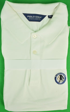 Ralph Lauren Polo Golf White Shirt w/ Sunnehanna Club Logo Sz: XXL
