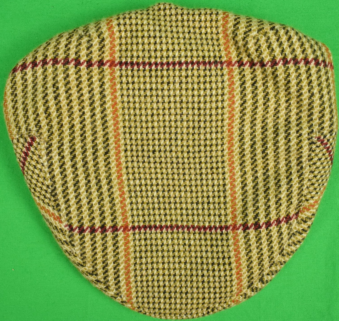 Lock & Co Russell Plaid Cap Sz: 7