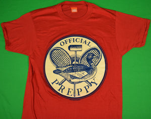 The Official Preppy Red T-Shirt Sz: XL (New w/o Tags!)