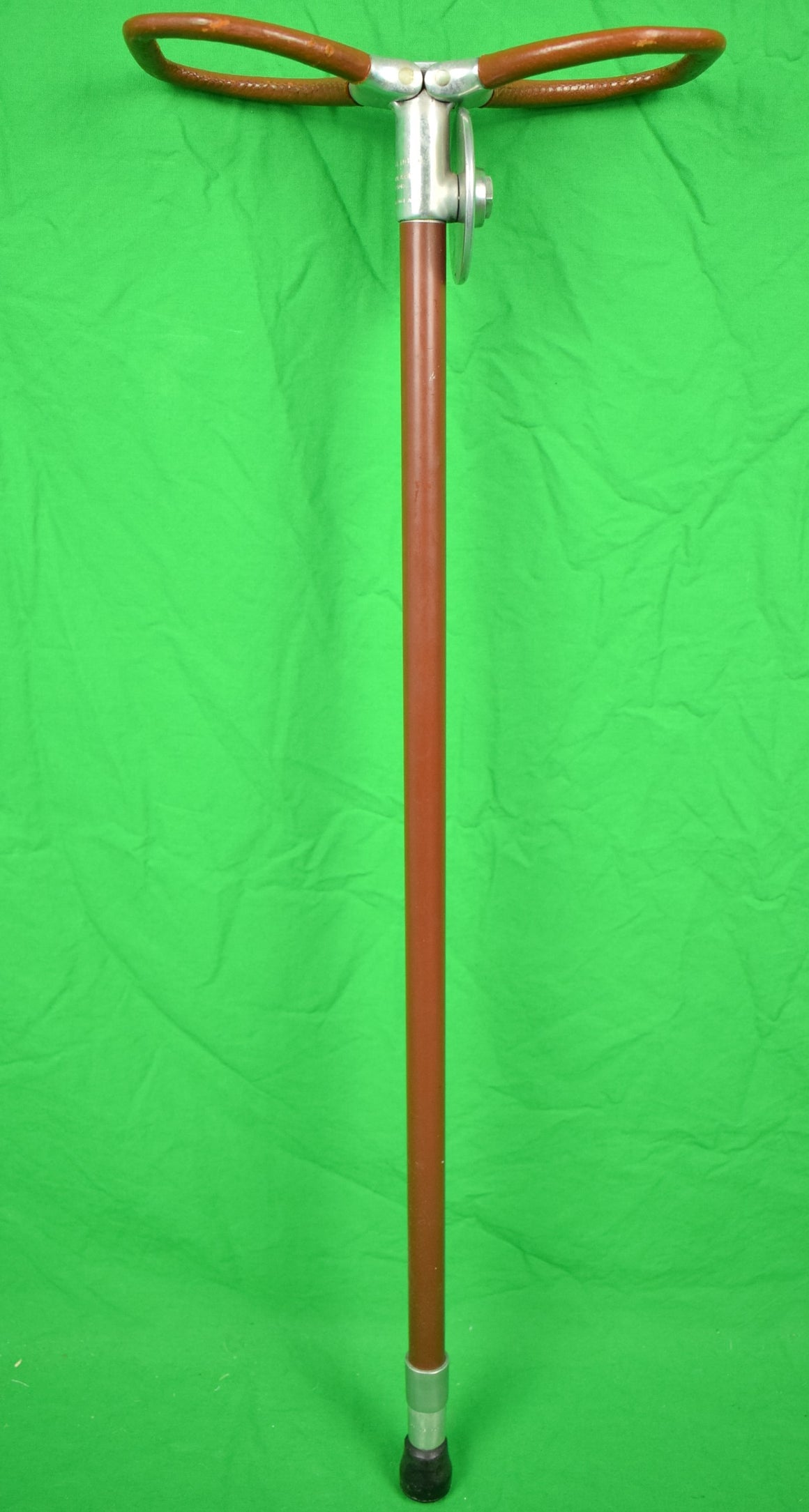 "Abercrombie & Fitch ""Churchill Downs"" Shooting Stick Made in England"