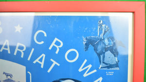 'Triple Crown Secretariat Poster' 1973 (Inscribed by Ron Turcotte to Seymour Knox!)