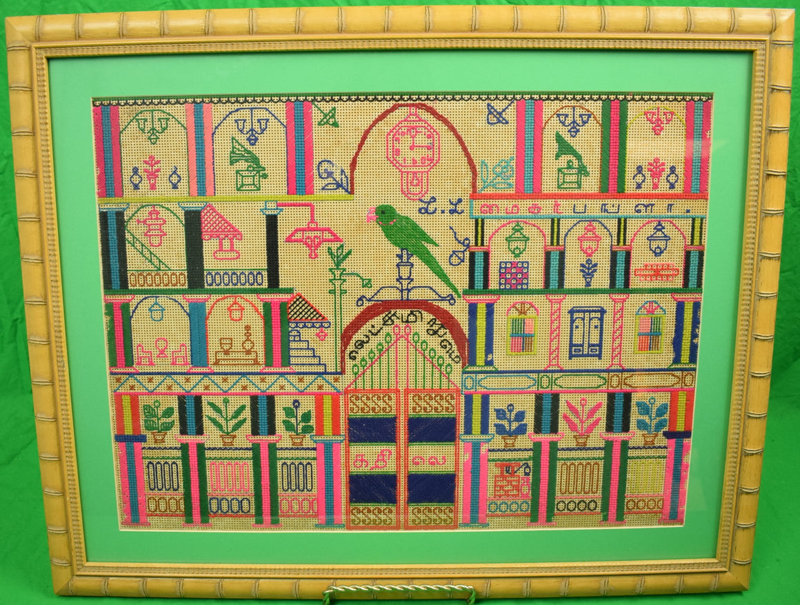 'Parrot Under a Clock Tower'