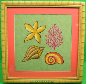 Needlepoint Shells