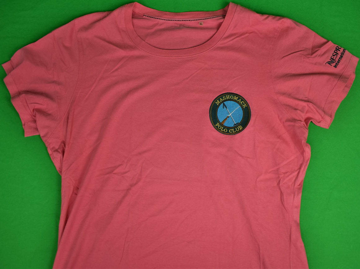 Mashomack Polo Club Cotton Pink T-Shirt Sz: XL (New w/o Tag!)