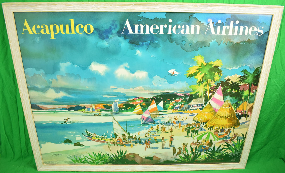 American Airlines Acapulco' by Dong Kingman (1911-2000)