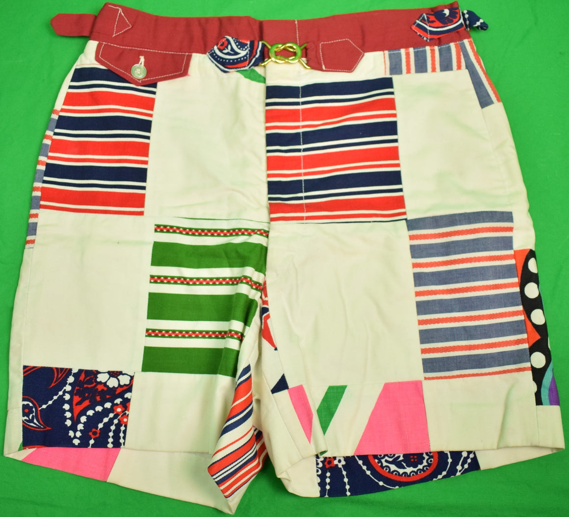 "Chipp Patch Panel GT Swim Trunks Sz: 29""W"