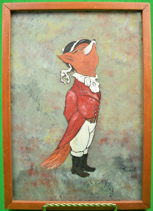 """Mr Snooty Fox"" by ""Smokey"", aka Albert P. Dumenigo (1947-1995)"