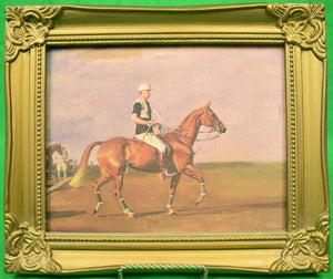 "Sir Alfred Munnings ""The Polo Player"" Giclee"