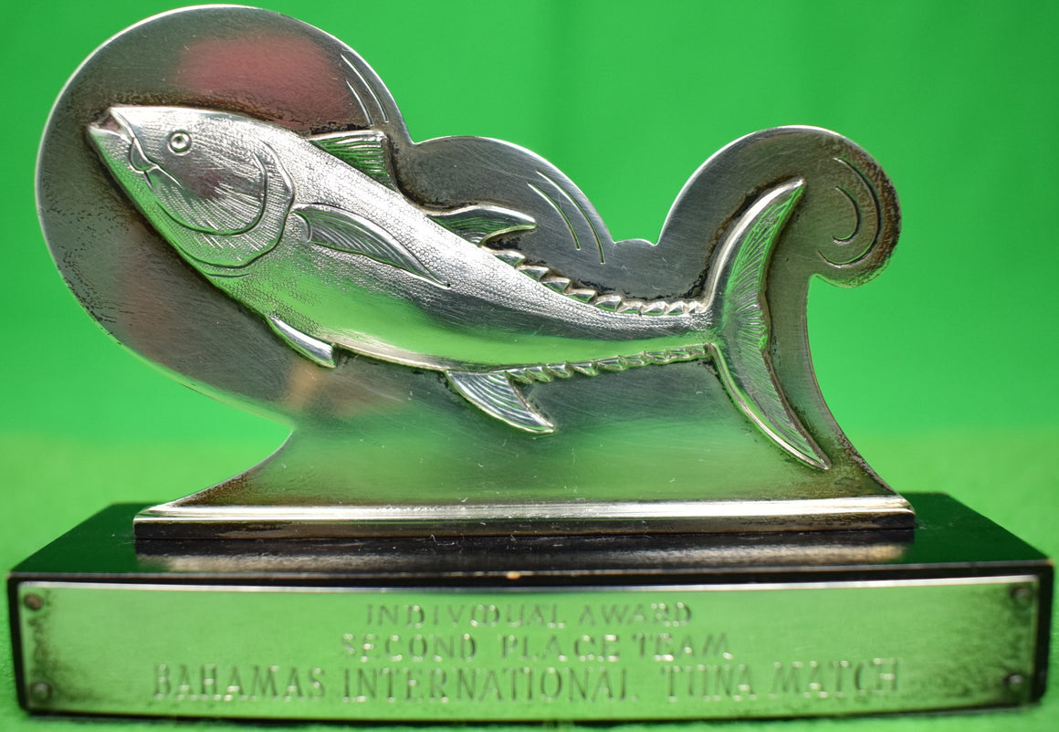 Mappin & Webb Sterling Silver Bahamas Intl. Tuna Match Angler's Trophy (SOLD)