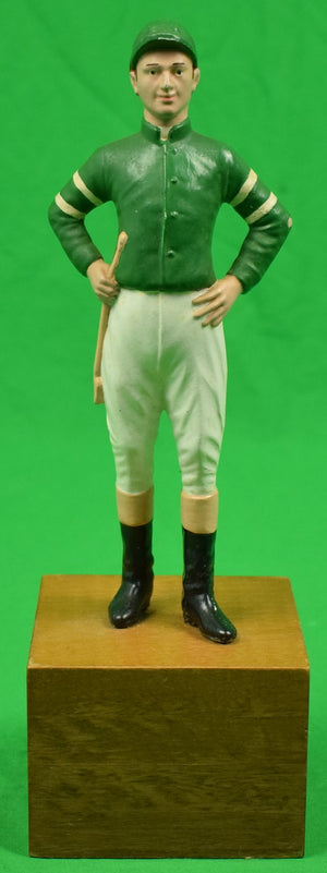 "The ""21"" Club Jockey Bookend"