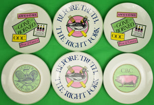 Set of 6 Official Preppy Plates
