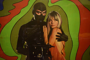 """Danger Diabolik"" 1968 Framed Movie Poster"