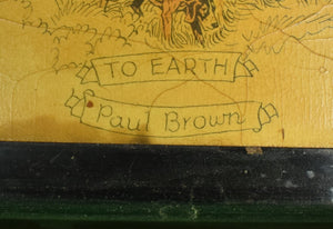 """Here's to John Peel"" Tray by Paul Brown for Brooks Brothers"