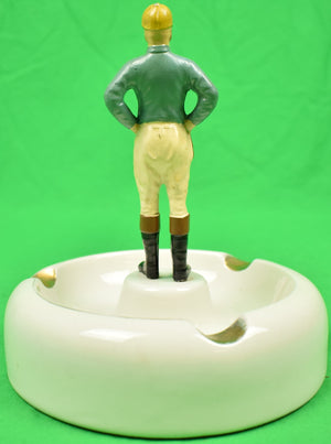 """21"" Club Jockey Hall Ashtray"