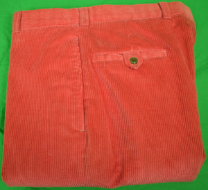 "Chipp Salmon Corduroy GT Trousers New/ Old 'Dead'Stock w/o Tag! Sz 35""W"